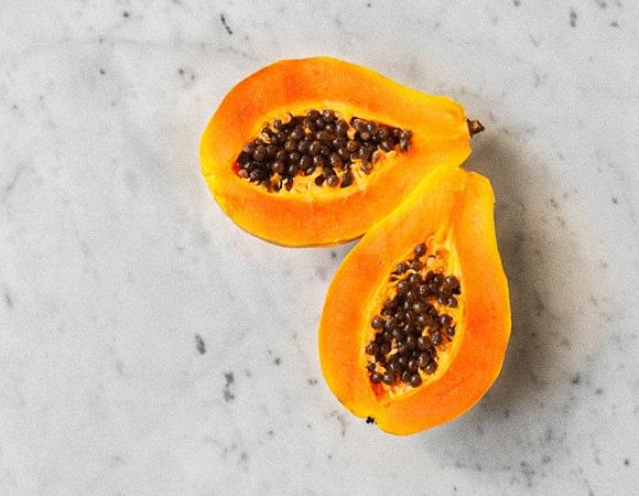 Полирующий скраб «Пюре папайи»